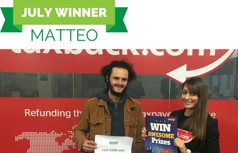 July Winner of the $1000 competition - Australian Tax Refunds