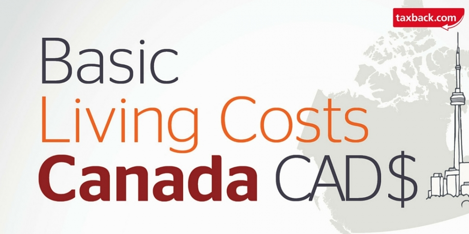 The Cost of Living in Canada (Infographic)