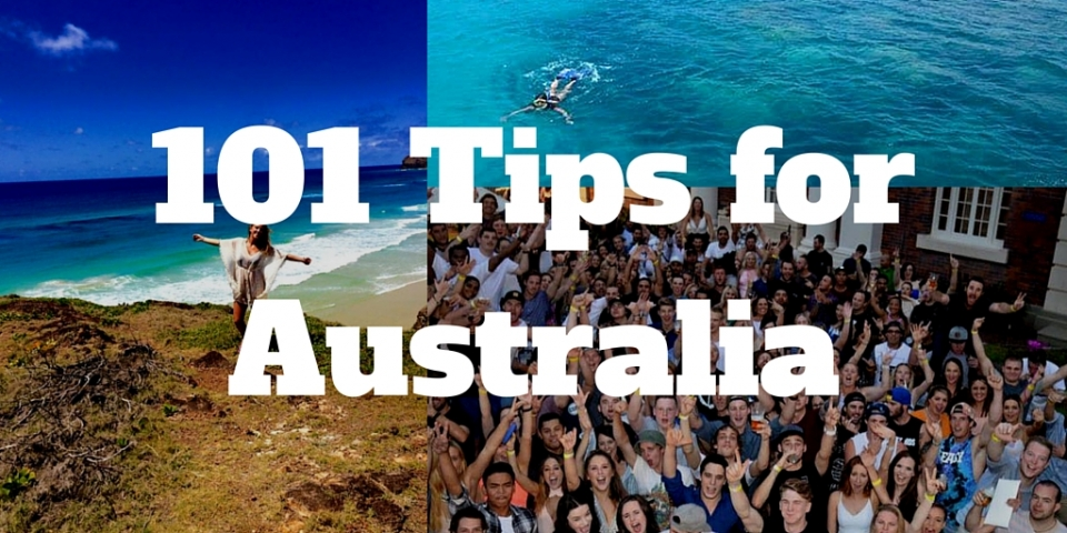 101 Things I Wish I'd known before Moving to Australia