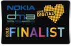 Gold Finalist in the Nokia Digital Media Awards icon